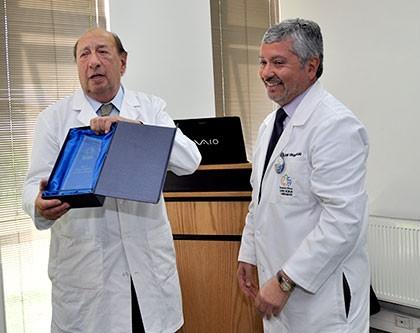 Celebran trayectoria de Dr. Ítalo Campodónico Garibaldi, uno de los fundadores de Sochiclim