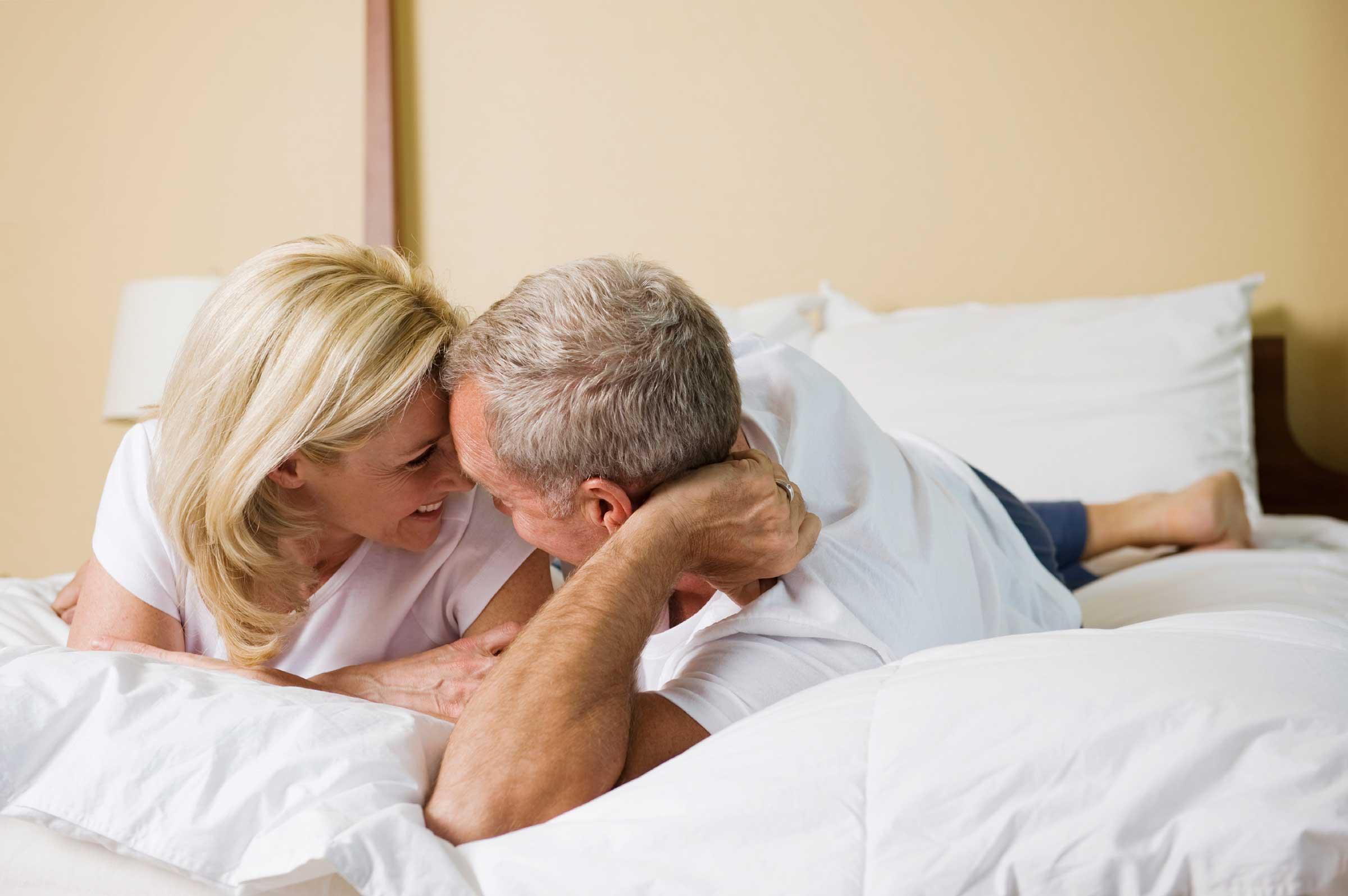 La plenitud sexual se puede vivir perfectamente durante el climaterio