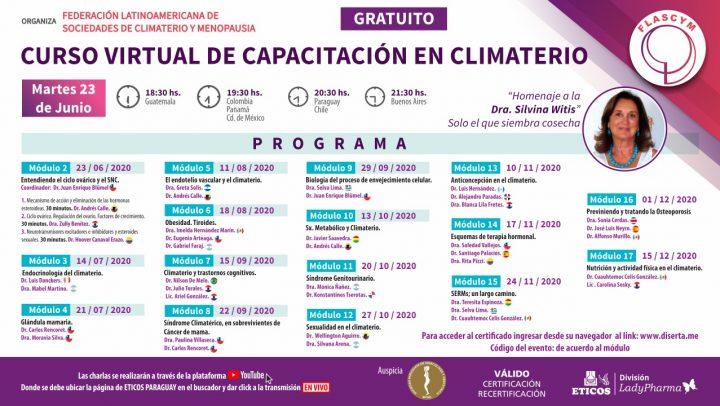Curso Virtual de Capacitación en Climaterio